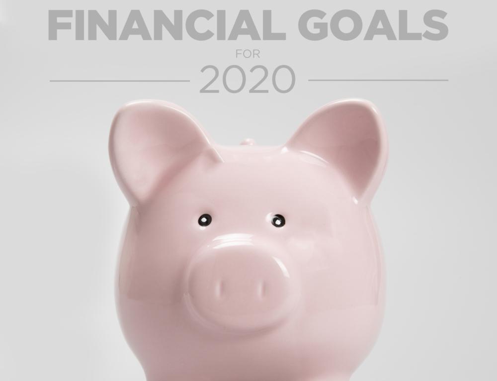 10 Financial Goals For 2020